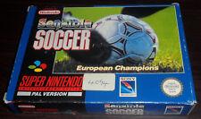 SNES. Sensible Soccer. (PAL AUS/EUR)
