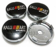 NEW 60mm RALLIART Sports Wheel Center Cap Badge Hub Cover For Mitsubishi cars
