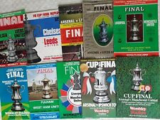 FA CUP FINAL PROGRAMMES 1970 TO 1979 ~ YOU CHOOSE WHICH YEAR ~ FREE POSTAGE