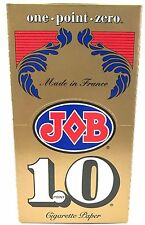 Job 1.0 Cigarette Rolling Papers - Full Box of 24 Booklets - Free Fast Shipping