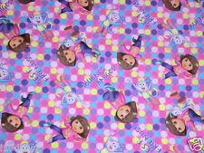 DORA THE EXPLORER cotton quilting fabric ONE HIP EXPLORER DISNEY CP46880 BTY NEW