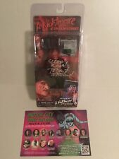 Nightmare On Elm Street Freddy Krueger Figure 3 Series 1 Signed Robert Englund