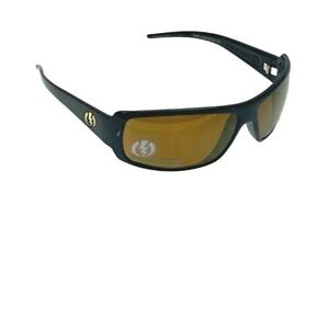 Electric Visual Charge Polarized Sunglasses Gloss Black Frame Bronze Lenses