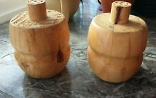 2 Stück Kiefer Möbelfüße Kugelfüße Kugelfuß Möbelfuß Holz gebraucht
