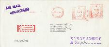 NEPAL 1984 King of NEPAL (Birendra Bir Bikram Shah Dev) TPO-R-Airmail to GERMANY