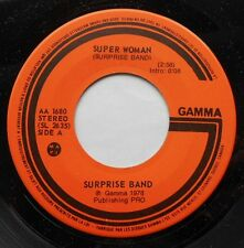 SURPRISE BAND Super woman NM- CANADA 1978 FUNK SOUL DISCO 45 LISTEN!!!