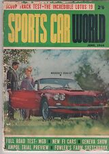 Sports Car World 1964 Jun MASERATI 3500 GT  MGB Sebring AUSTIN HEALEY Bathurst