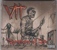 Vtt - Symptoms Of Sin CD 2009 NEW SEALED METAL