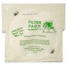 Buon Vino Mini Jet #3 Sterile Filter Pad (0.5 micron) - 3-Pack