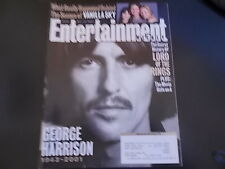George Harrison - Entertainment Weekly Magazine 2001