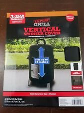 Expert Grill Vertical Smoker Cover 22Wx18Dx30H Waterproof Ripstop Fabric