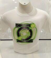 DC Comics Men's Green Lantern Logo T-shirt White Medium