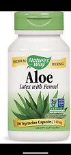 Aloe Latex & Leaf - 100 VCaps - Nature's Way Fast 1st Class Shipping