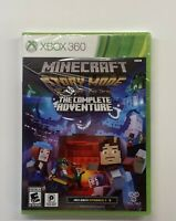 Telltale Games Minecraft Story Mode - The Complete Adventure for Xbox 360 NEW!!