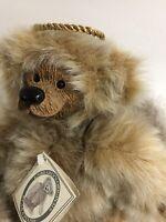 "Angel Bear Kimbearly's Originals A&A Plush Bear #2329 ""Gabriella With Halo"""