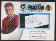 2008-09 UD The Cup Patrick Kane Rookie Draft Boards RC Auto SP /25