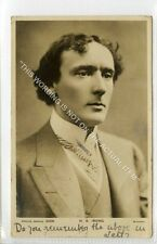 (Ga7709-100) Real Photo of Henry Brodribb Irving Theatre Actor 1904 Used G-VG