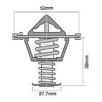 TRIDON Std Thermostat For Ford Telstar AX - AY 01/92-11/96 2.5L KL