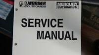 MERCURY/MARINER SERVICE MANUAL PART# 90-814676R1  MODELS 40Hp(4CYL) AND 30 JET