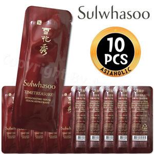 Sulwhasoo Timetreasure Invigorating Serum 1ml x 10pcs (10ml) Sample Newist Ver