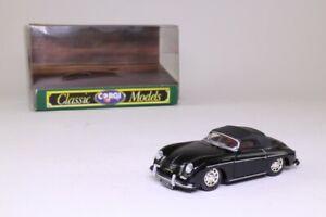 Corgi D743/1; Porsche 356a Speedster; Soft Top; Black; Excellent Boxed