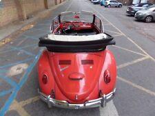 VW beetle karmann convertible 1966