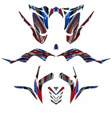 Raptor 700 graphics 2006 2007 2008 2009 2010 2011 2012 deco kit #5900 Blue Red