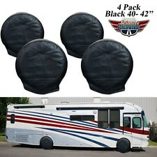 "4 X Anti-UV Wheel Tire Covers For RV Motorhome Camper Car Truck  40""-42"" 6B"
