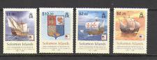 Solomons 2006 Columbus/barcos/barcos/Navegación/exploración/transporte 4 V Set (n16021)