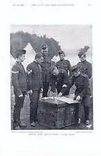1896 MILIZIA Assestamento Conti anticipo fatica festa ciclisti Militari Scout