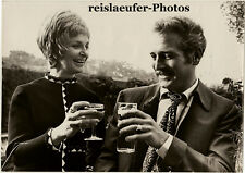 Joanne & Paul Newman, 2nd honeymoon, Orig. Photo, 1969