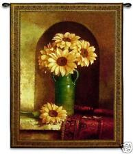 40x53 SUNFLOWERS Floral Tapestry Wall Hanging