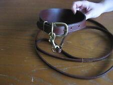 Greyhound/Lurcher/Whippet saluki deerhound  Collar and Lead set hand sewn