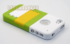 for iphone 4 4g 4s phone case hard slid in w/ kick stand + /// /