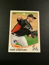 2013 Topps # 392 TOM KOEHLER ROOKIE RC Florida Marlins Great Card Look !