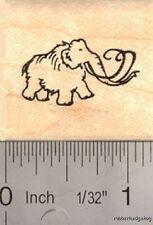 Tiny Mammoth Rubber Stamp (Extinct Megafauna) B13611 WM