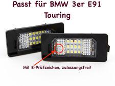 2x TOP LED SMD Kennzeichenbeleuchtung Für BMW 3er E91 Touring (XC)