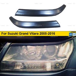 Eyebrows Eyelid Cover for headlights for Suzuki Grand Vitara 2005-2016