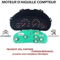 MOTEUR D'AIGUILLE COMPTEUR NEUF PEUGEOT 206, PARTNER, CITROEN BERLINGO NEUF PG1