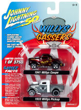 2019 Johnny Lightning 2-PACK *WILLY GASSERS* 1941 Coupe & 1933 Pickup DRAG NIP