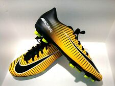 New Men'S Nike Mercurial Vortex Iii Fg Soccer Cleats Orange Black Size 5.5