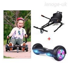 6.5'' Led Wheels Self Balancing Electric Scooter Hoverboard no bag W/ Hoverkart