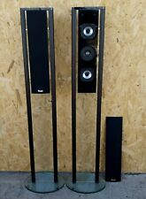 2x Teufel MO 6 FR * 2-Wege Design Lautsprecher Motiv 6 130W Satelliten * GLAS