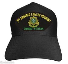 ARMY 2ND ACR ARMORED CAVALRY REGIMENT COMBAT VETERAN MILITARY HAT CAP