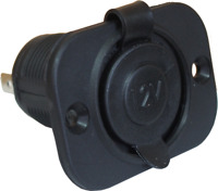 Motorcycle/Marine Waterproof 12 Volt Accessory Power Socket 20A