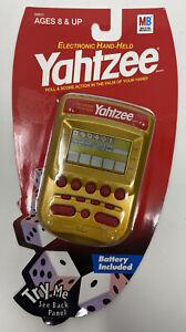 Milton Bradley Yahtzee Electronic Handheld Video Game New Sealed 2002 Hasbro