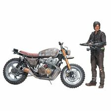 NECA - The Walking Dead Figure - Daryl Dixon with New Custom Bike - Brand New