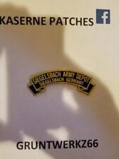 Siegelsbach Army Depot,Germany, rocker tab patch