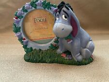 The Disney Store Eeyore with Flowers Ceramic Picture Frame