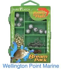 Surecatch - Bream Tackle Kit in Fishing Tackle Box - 130 Pieces